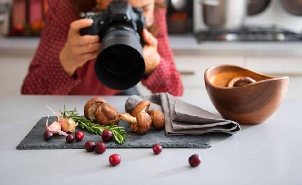 عکاسی مواد غذایی