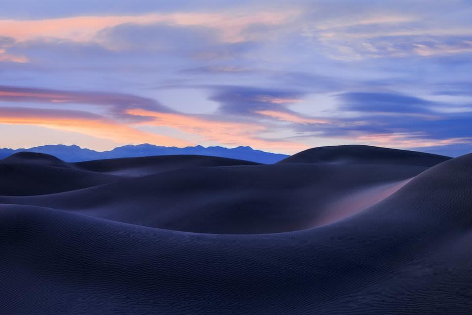 عکاسی از تپه های شنی