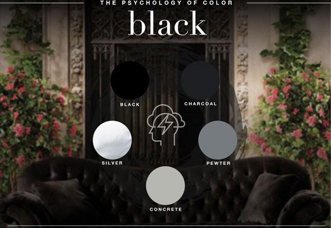 معنی رنگ سیاه در طراحی لوگو