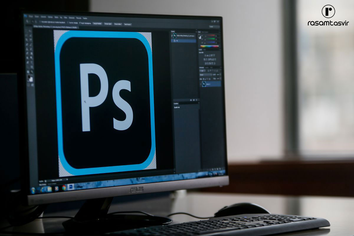 نرم افزار طراحی لوگو Adobe Photoshop