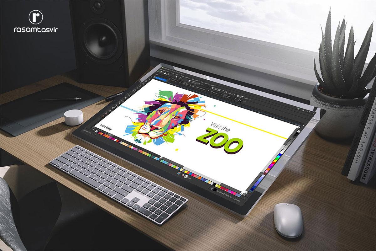 نرم افزار طراحی لوگو CorelDRAW