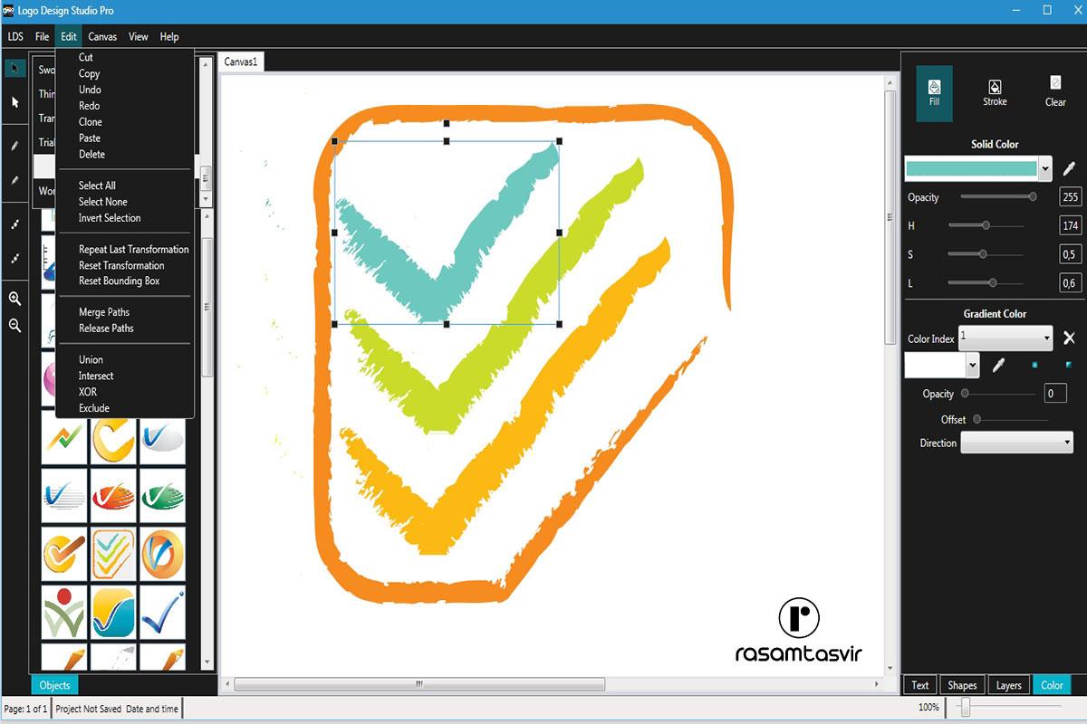 نرم افزار طراحی لوگو Summitsoft Logo Design Studio Pro