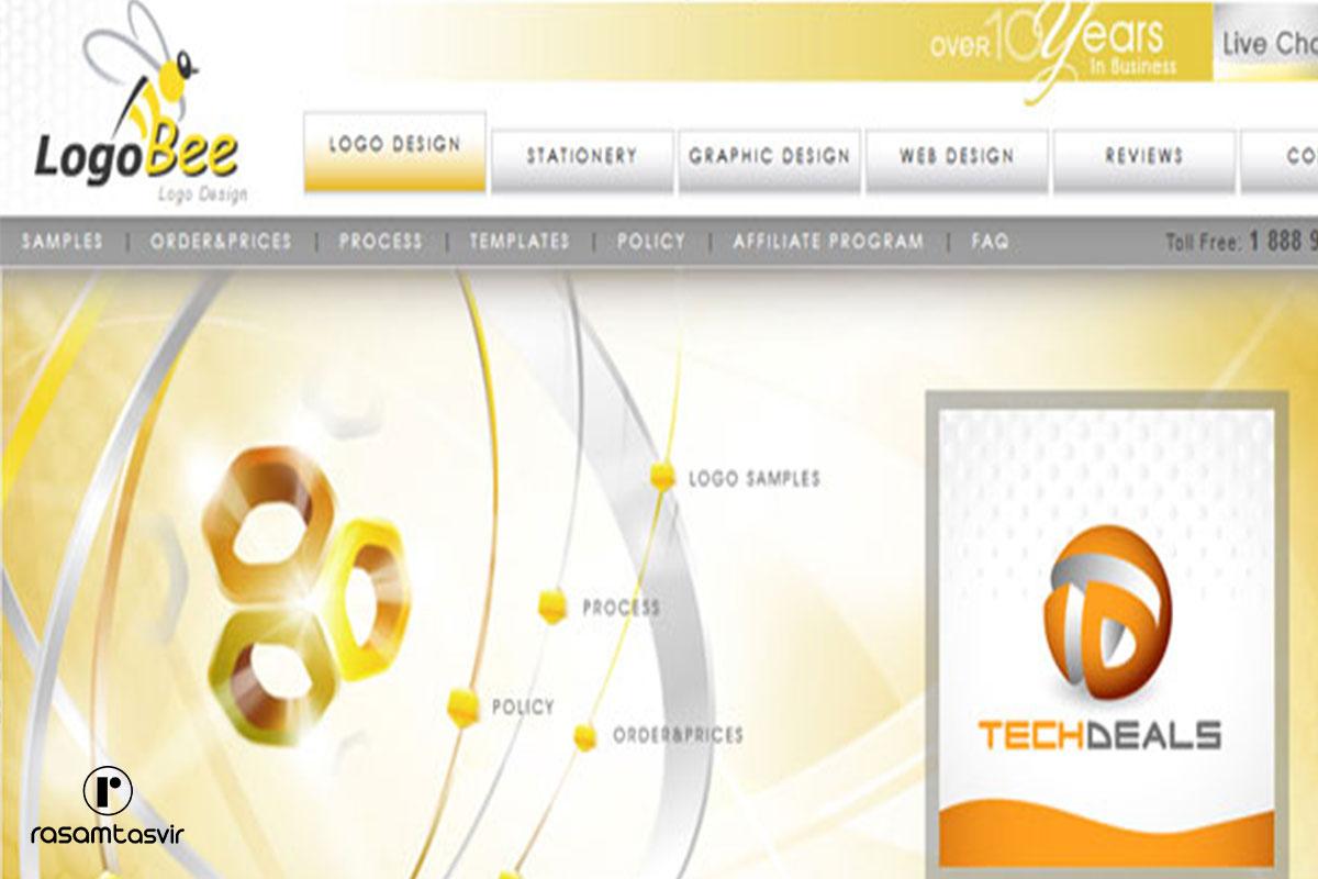 نرم افزار طراحی لوگو Logobee